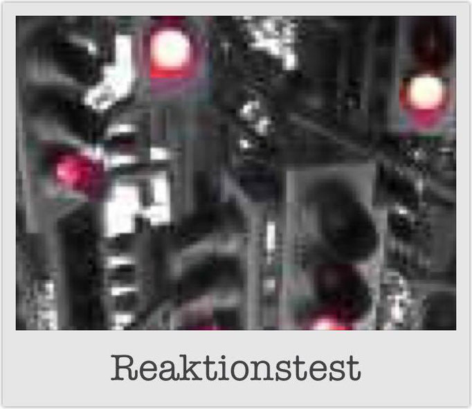 Reaktionstest