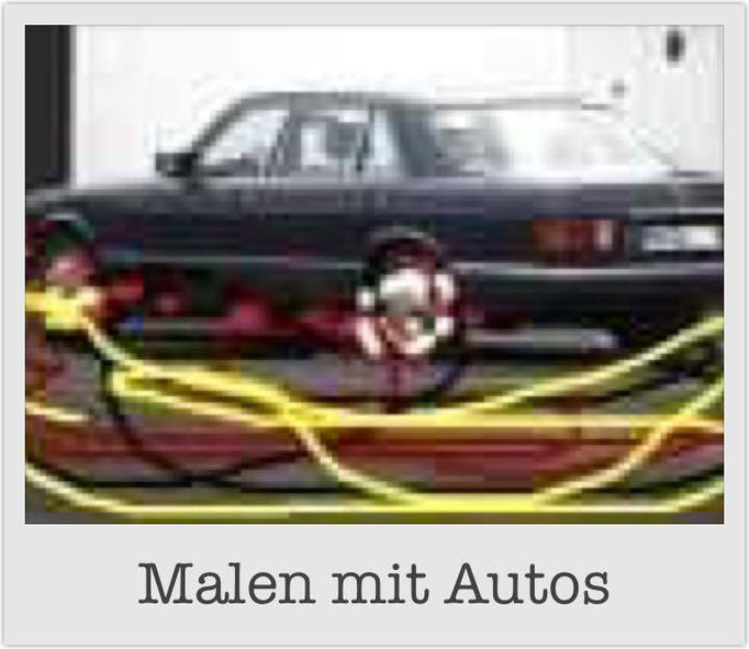 Malen mit Autos