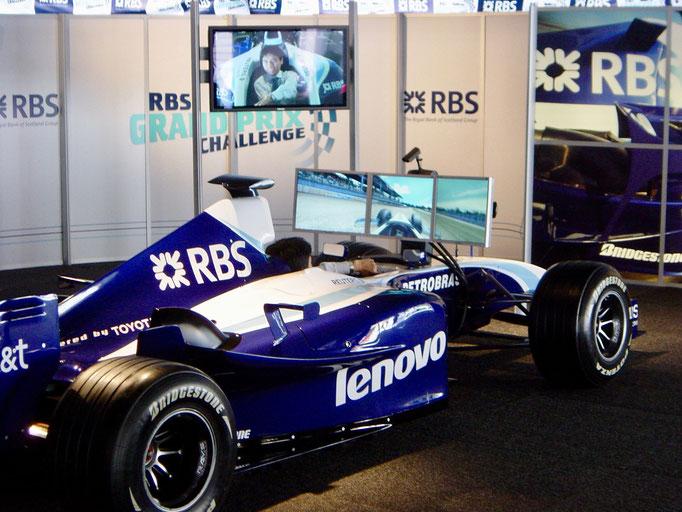 Formel 1 Rennwagen PKW Auto