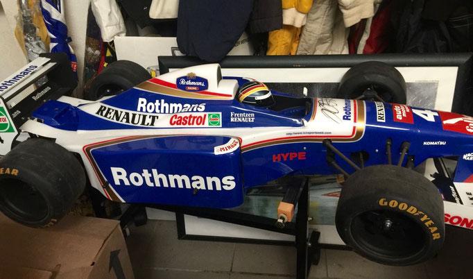 Formel 1 Firmen Motorsport Event Dekoration