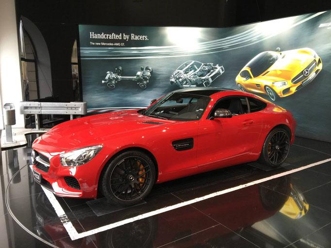 Mercedes AMG GTS mieten