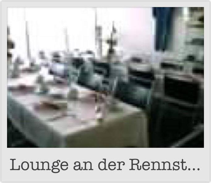 Lounge an der Rennstrecke