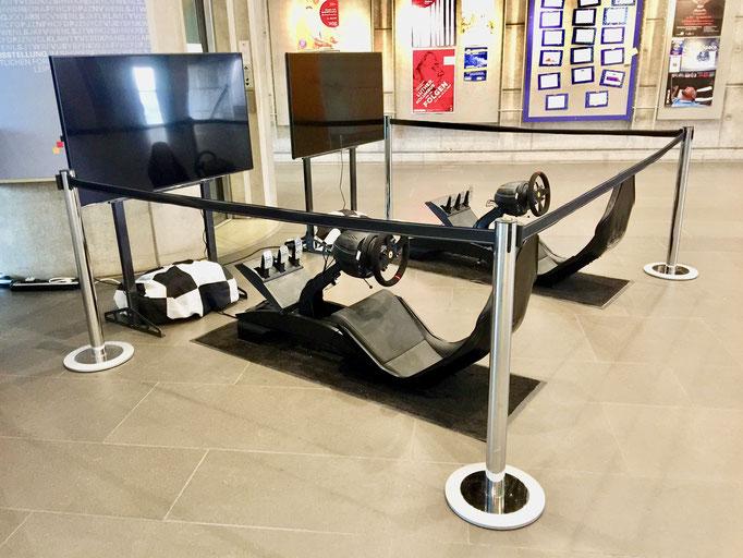 Mini Formel 1 Simulatoren mieten