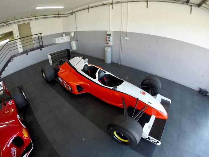 Formel 1 Doppelsitzer Renntaxi X2