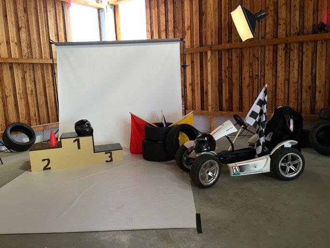 Motorsport Rennsport Deko mieten