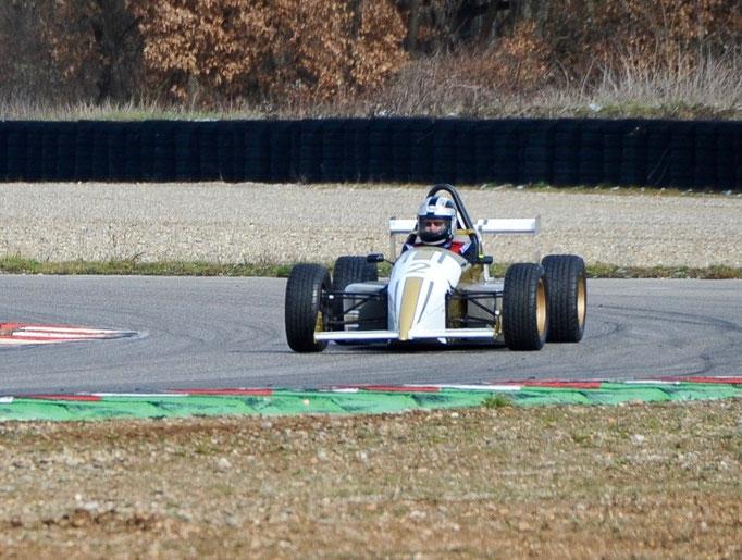 Formel Rennwagen Rheinring Rennstrecke nahe Schweiz