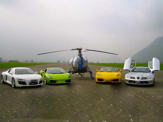 Sportwagen Showcars mieten