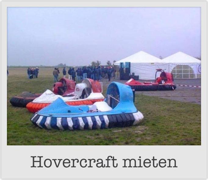 Hovercraft mieten