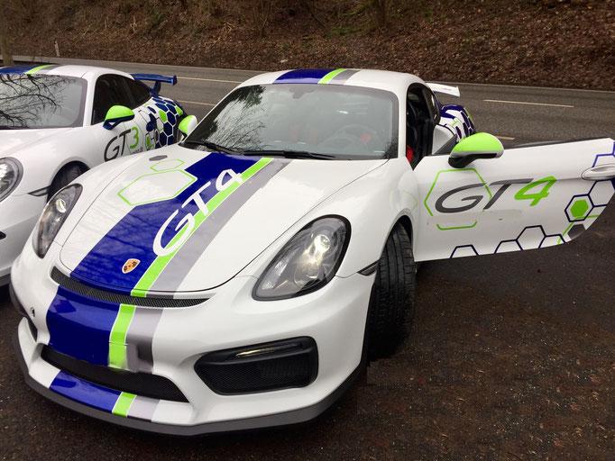 Porsche Rennwagen selber fahren Bilster Berg Cayman