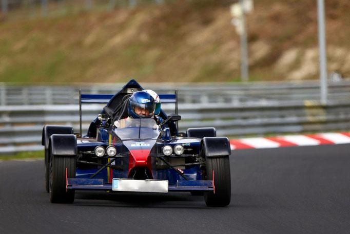 Co Pilot Formel 3000 Rennwagen
