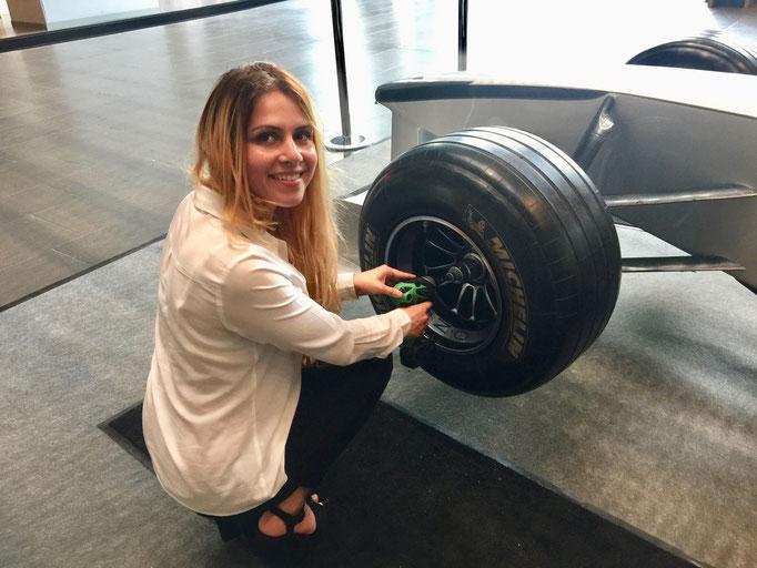 Formel 1 Pit Stop Simulator mieten