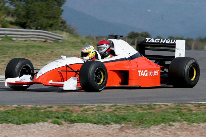 Formel 1 Doppelsitzer Renntaxi