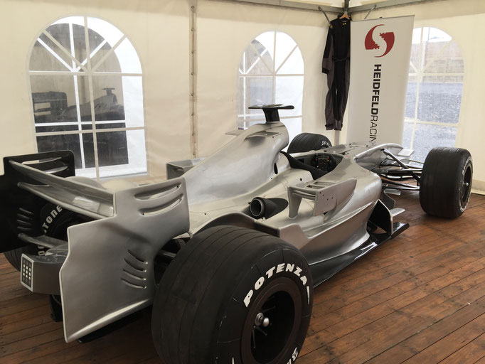 Formel 1 Messe Replica Showauto mieten