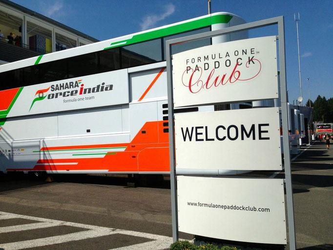 Formel 1 Reisen