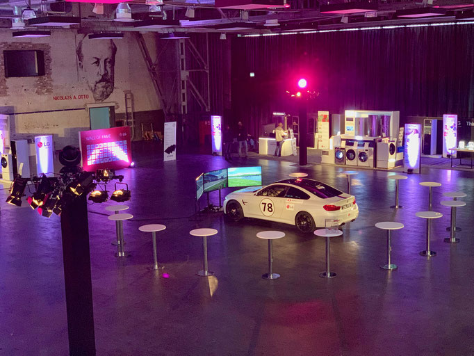 DTM Auto Simulator mieten