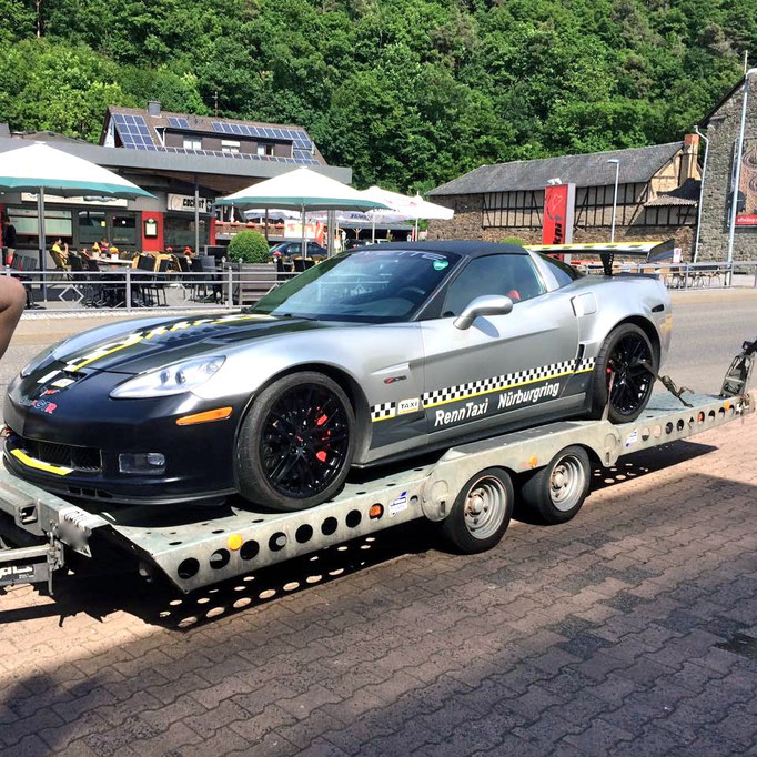 Sportwagen Renntaxi