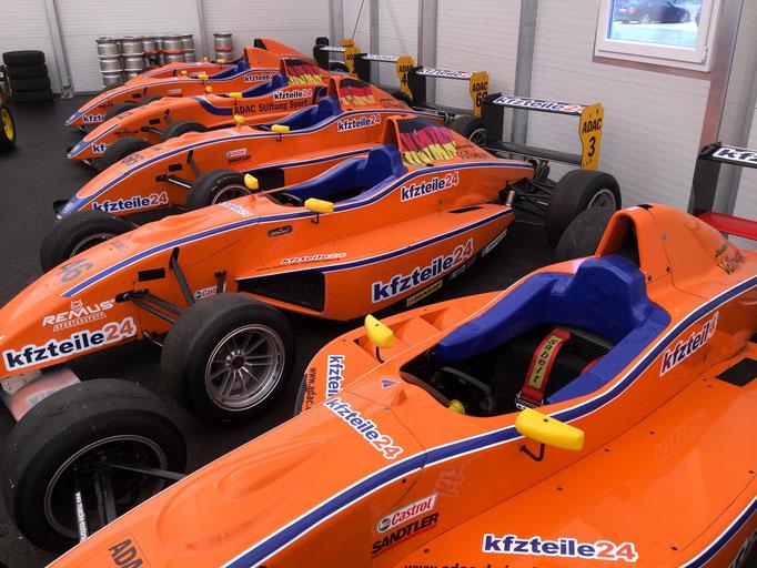 F1 Aurto fahren Spreewaldring