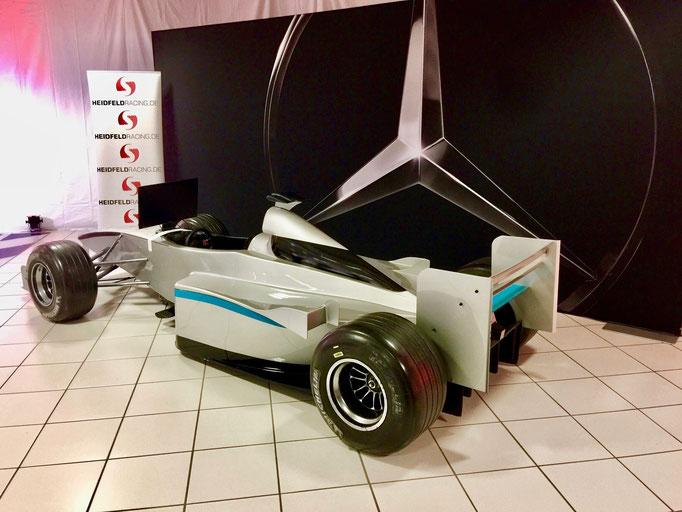 Formel 1 Rennsimulator Vermietung