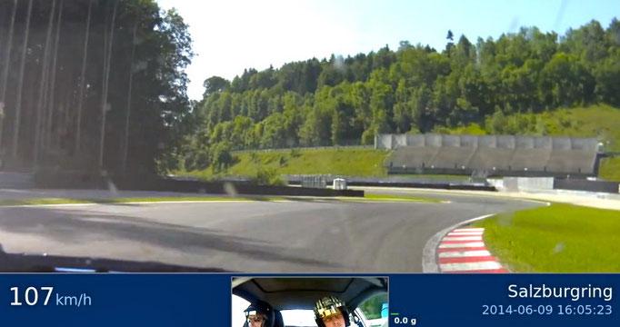 Österreich Renntaxi Salzburgring Co Pilot Renntaxi Motorsport Event