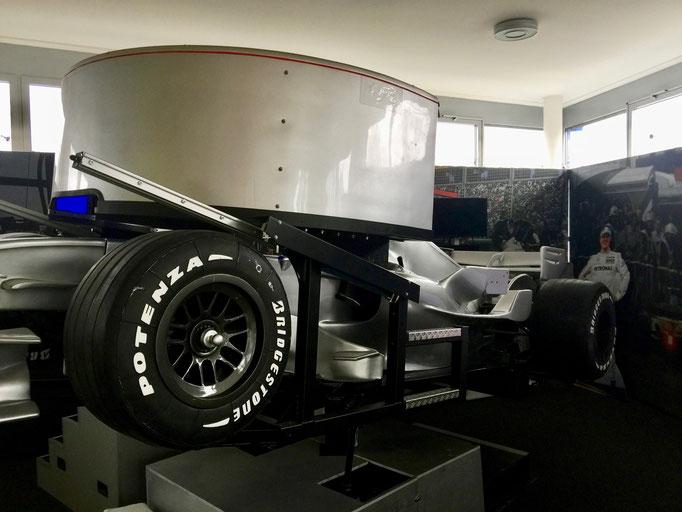 Mieten Full Motion Formel 1 Simulator