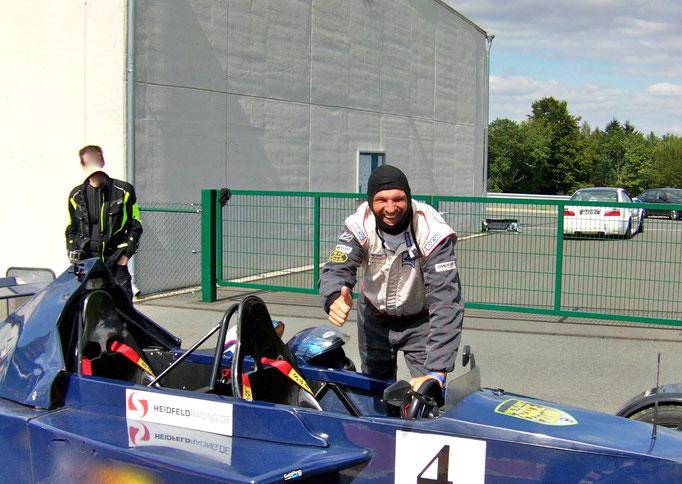 Bilster Berg Rennstrecke Formel 3000 Replica selber fahren