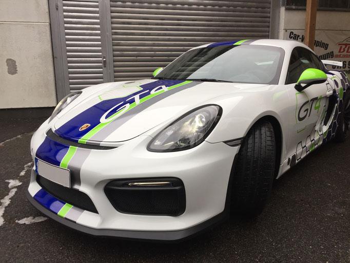 Porsche Rennwagen selber fahren Red Bull Ring Cayman