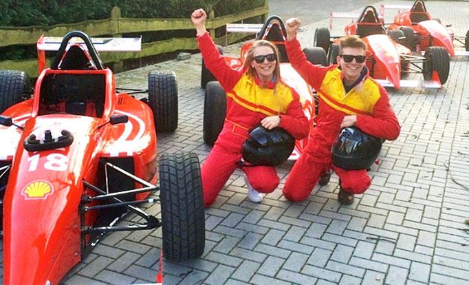 Formel selbst fahren Rheinring Rennstrecke