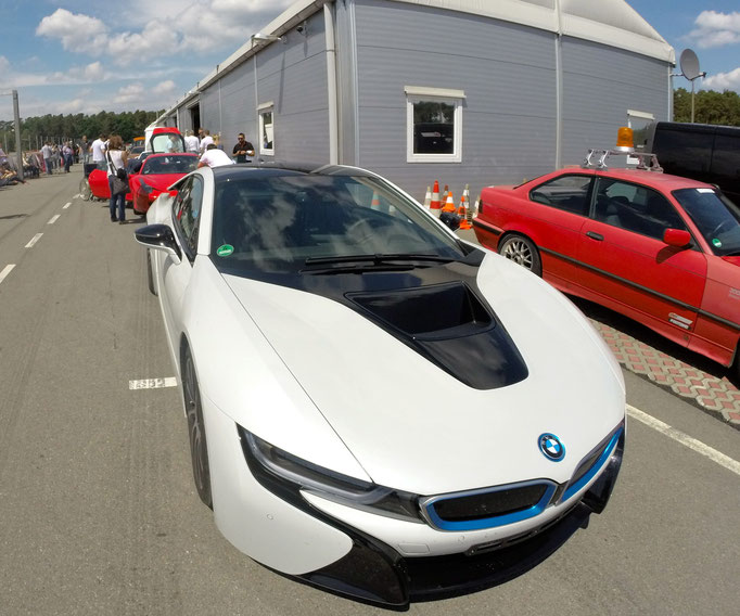 BMW i8 Rennstrecken Event