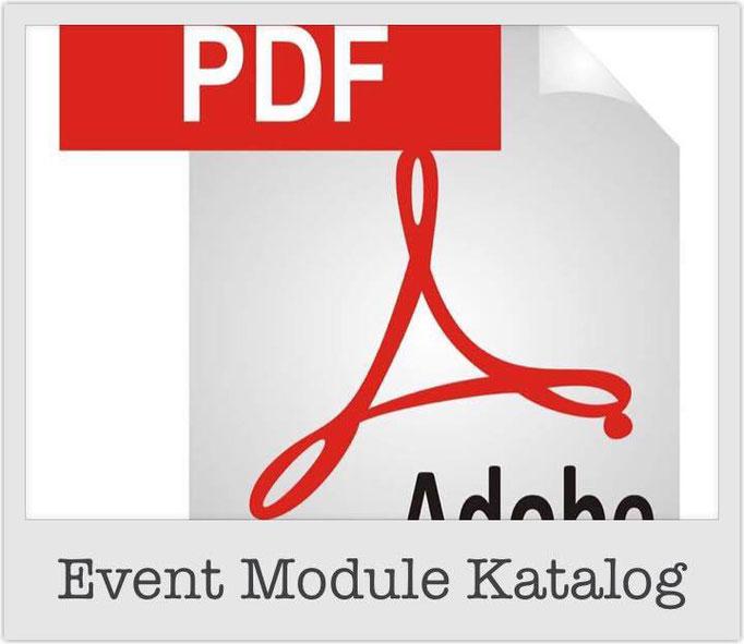 Event Module Katalog