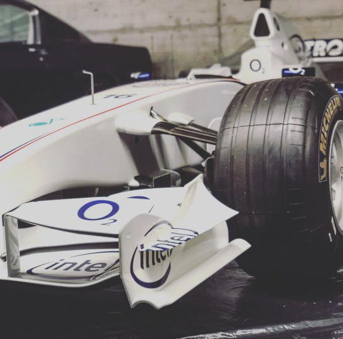 BMW Sauber Formel 1 Nick Heidfeld echtes Showcar mieten