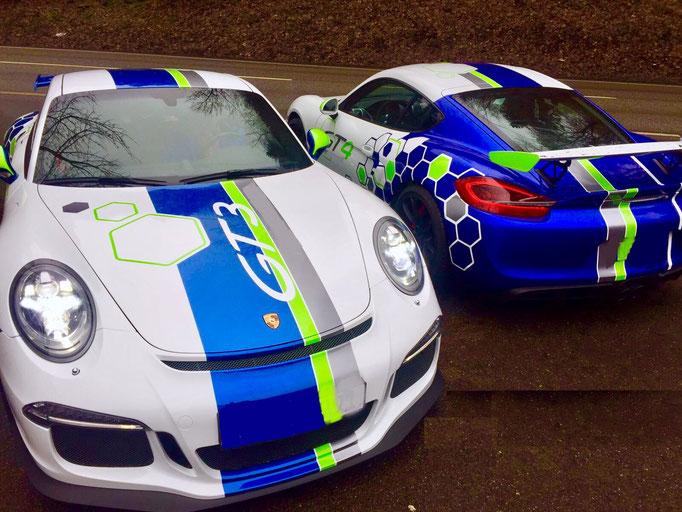 Porsche Rennwagen selber fahren Salzburgring Cayman