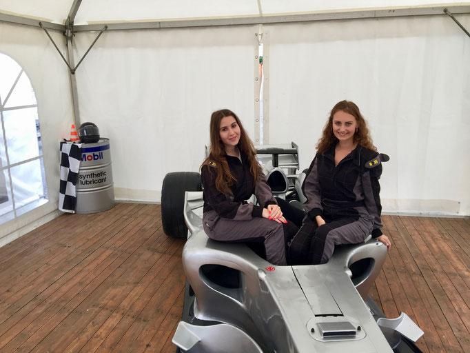 Formel 1 Showcar Rennwagen mieten