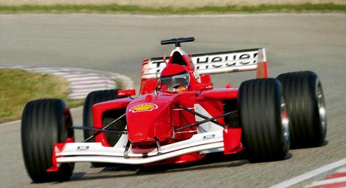 Formel 1 selber fahren Le Luc Rennstrecke