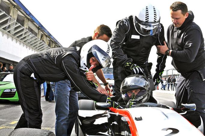 Formel 1 Renntaxi Hockenheimring