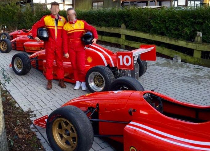 Formel selber fahren Dijon Prenois in Frankreich, nahe Genf, Zürich, Schweiz