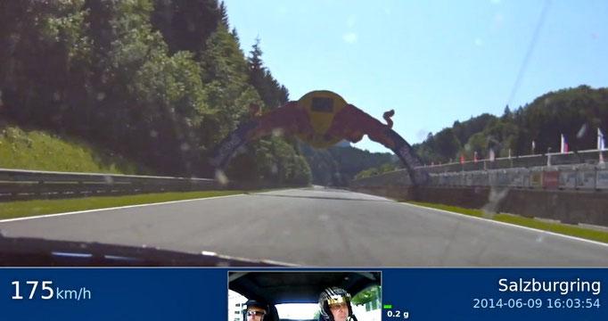 Renntaxi Salzburgring Österreich