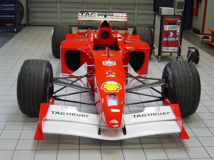 Rennwagen F1 fahren