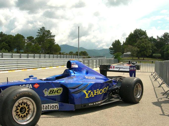 Formel 1 selber fahren Motorsport Firmen Event Le Luc Frankreich