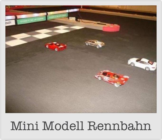 Mini Modell Rennbahn