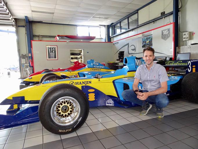 Formel 1 Auto fahren