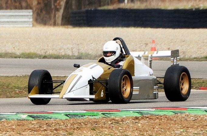 Formel Rennauto selber fahren Frankreich