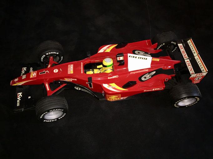 Großer Mini Formel 1 Showcar ca. 125 cm x 55 cm