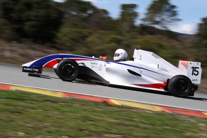 Formel 4 Rennwagen