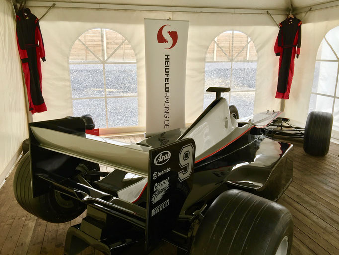 Formel 1 Rennwagen ausleihen