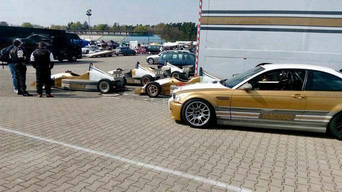 Formel Rennwagen fahren Hockenheimring