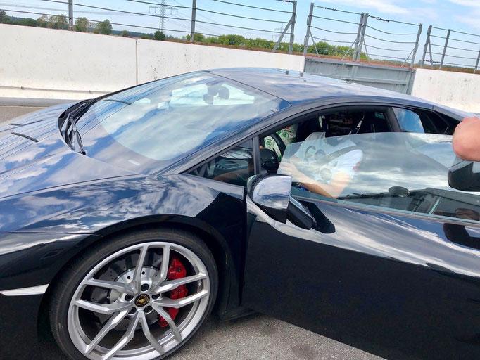 Lamborghini Huracan Rennstrecke Berlin