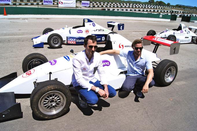 Formel Rennwagen selber fahren Mallorca