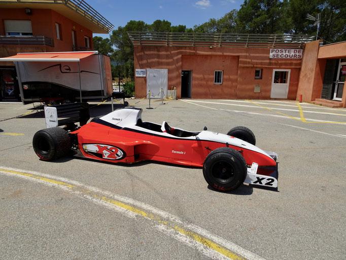 Renntaxi Formel 1
