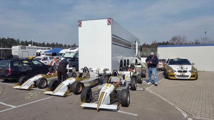 Formel fahren Motorsport Event Sachsenring