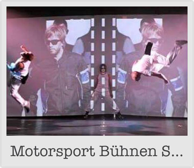 Motorsport Bühnen Show